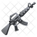 Gun Rifle Military Icon