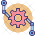 Assembly Manufacturing Production Icon