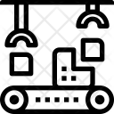 Assembly Conveyor Belt Icon