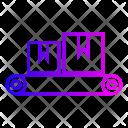 Assembly Belt Conveyor Icon