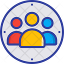Assembly Point Team Group Icon