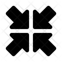 Arrow Assembly Assemble Icon