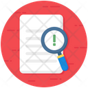 Assessment Analysis Evaluation Icon