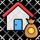 Loan Money Sack Save Money Icon