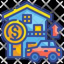 Asset Car Loan Home Loan Icon