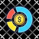 Asset Allocation Graph Icon