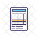 Asset Receipt Accounting Icon