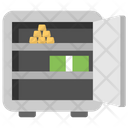 Asset Safe Safety Locker Bank Locker Icon