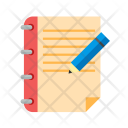 Assignment Notes Book Icon