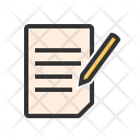 Assignment Paper Letter Icon