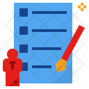 Assignment Test Agreement Icon