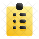 Assignment Education Homework Icon
