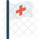 Assistance Flag Medical Icon