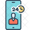 Assistance Helper Phone Icon