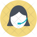 Assistant Call Center Icon