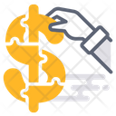 Assistant Dollar Business Icon