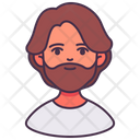 Man Avatar Assistant Icon