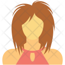 Assistant Female Manager Icon
