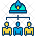 Team Group Workers Icon