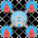 Association Organization Connection Icon