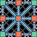 Association Rule Organization Network Icon
