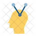 Associative Thinking Brain Icon