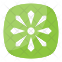 Eight Spoked Asterisk Icon