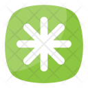 Asterisk Star Typographical Icon
