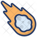 Asteroid Magic Power Outer Space Icon