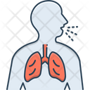 Asthma Inhaler Respiration Trouble Icon