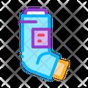Inhaler Asthma Treatment Icon