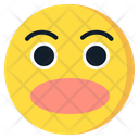 Astonished Emoji Emoticon Icon