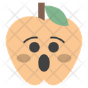 Astonished Apple Icon