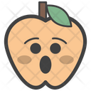Astonished Apple Icon