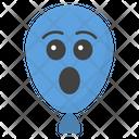 Astonished Balloon Icon