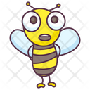 Astonished Bee Icon