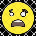 Astonished Emoji Emoticon Smiley Icon