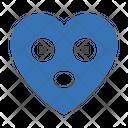 Heart Emoji Astonishedface Icon