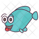 Astonished Fish Icon