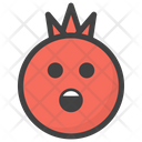 Astonished Pomegranate Icon