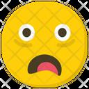 Astonished Smiley Surprised Emoji Emoticon Icon