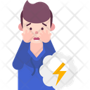 Astraphobia Fear Of Thunderstorm Icon