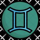 Astrology Gemini Twins Symbols Icon
