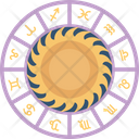 Astrology Wheel Icon