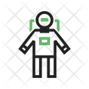 Space Man Astronaut Icon