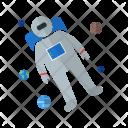 Astronaut Space Man Icon