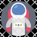 Space Astronaut Flight Icon