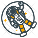 Survival Astronaut Space Icon
