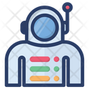 Astronaut Astronomy Space Man Icon