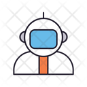 Astronaut Space Spaceman Icon